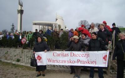 Pielgrzymka pracowników i wolontariuszy Caritas Diecezji Warszawsko- Praskiej do Łagiewnik