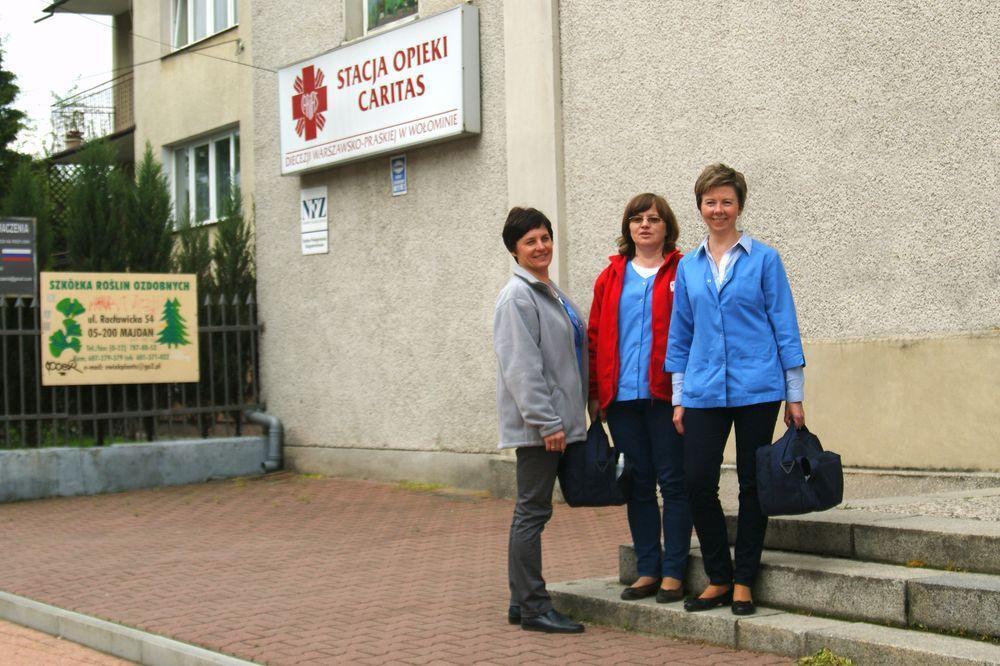 Placówki medyczne – Długoterminowa Opieka Domowa (NZOZ) – Wołomin