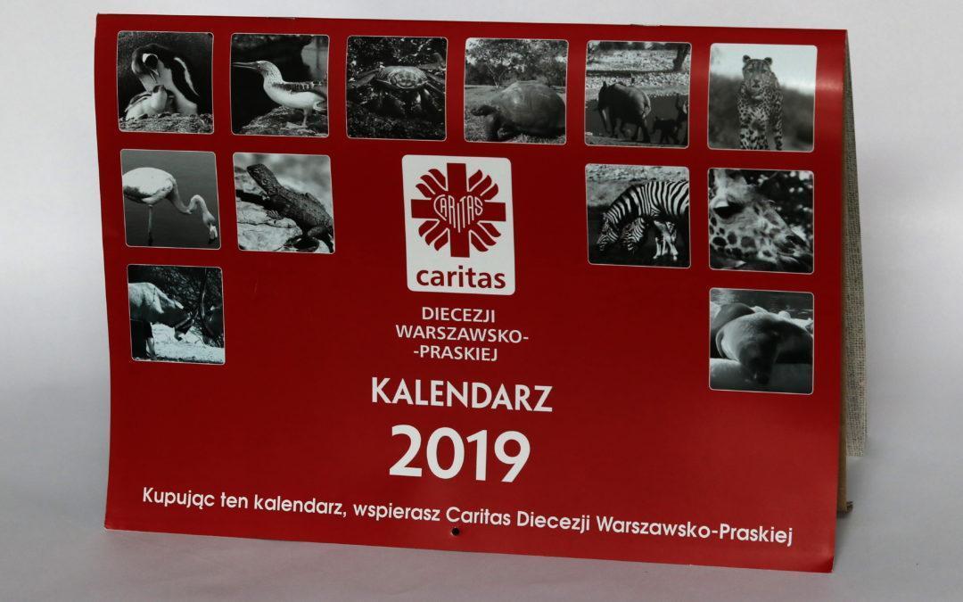 Kalendarz charytatywny 2019 Caritas DWP
