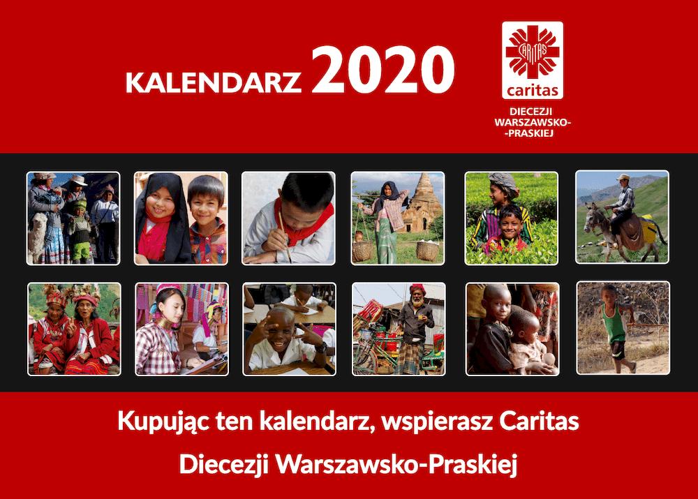 kalendarz Caritas 2020