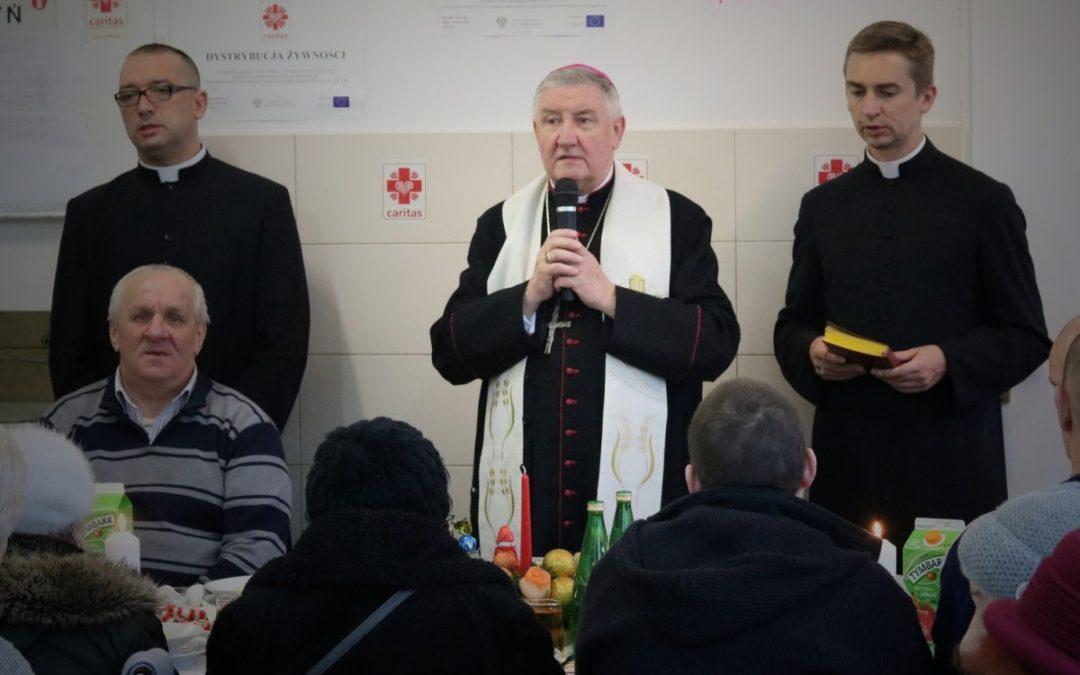 Wigilia Bożego Narodzenia w jadłodajni Caritas DWP