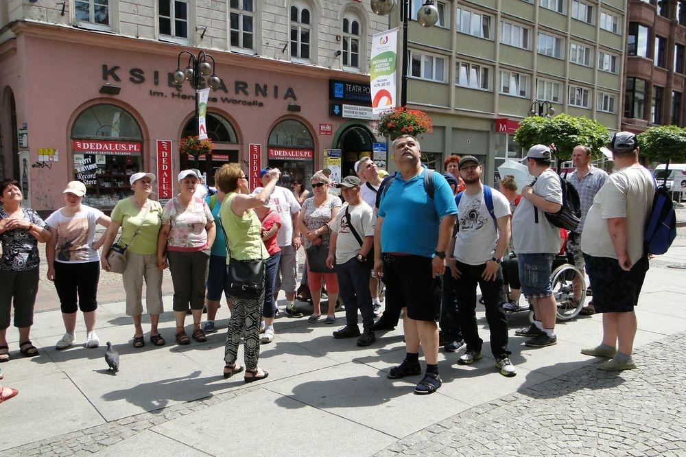 Wycieczka uczestników ŚDS w Radzyminie