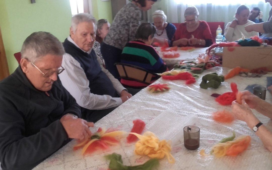 Filcowanie w DDP w Mińsku