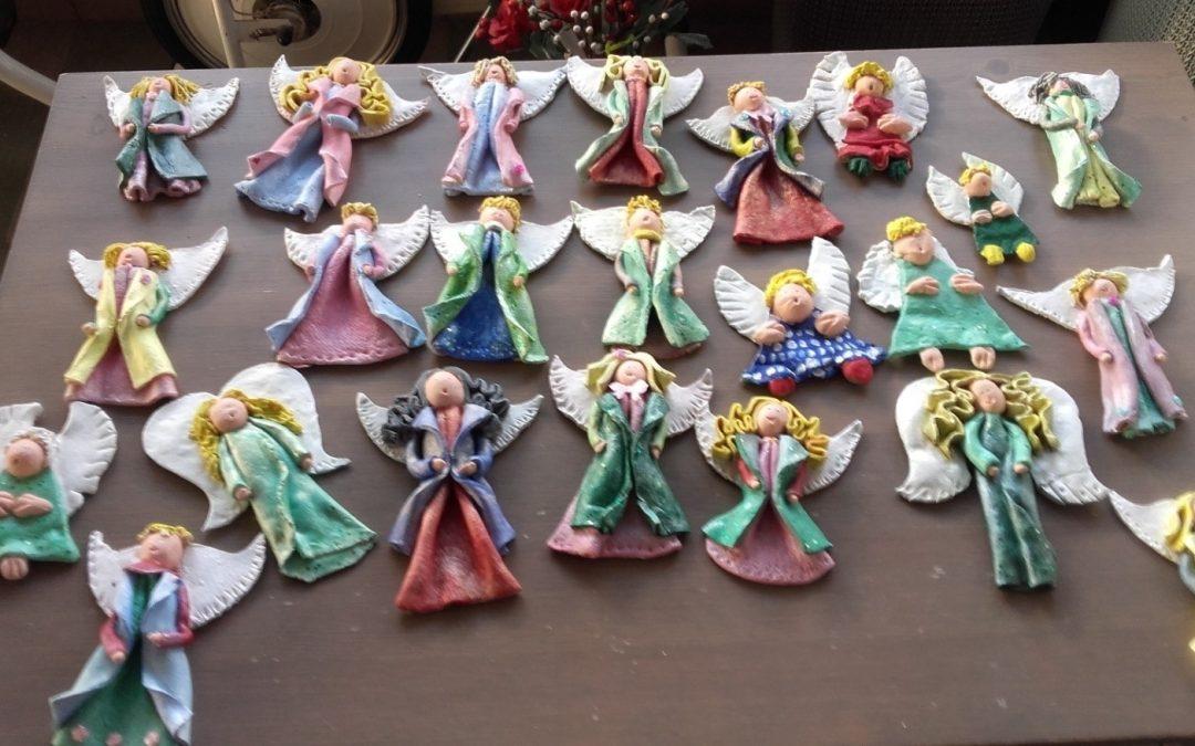 Anioły z Domu Dziennego Pobytu w Mińsku
