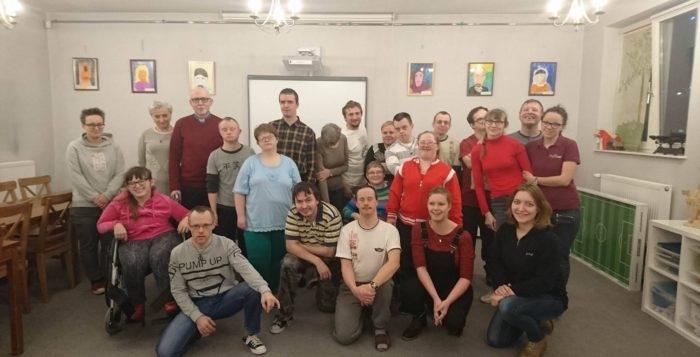 Wizyta studyjna studentek z Belgii w Caritas