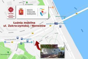 aźnia nowa lokalizacja 300x201 - Łaźnia mobilna