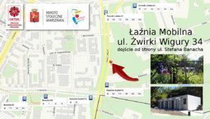 aźnia ul. Żwirkli i Wigury 300x170 - Łaźnia mobilna
