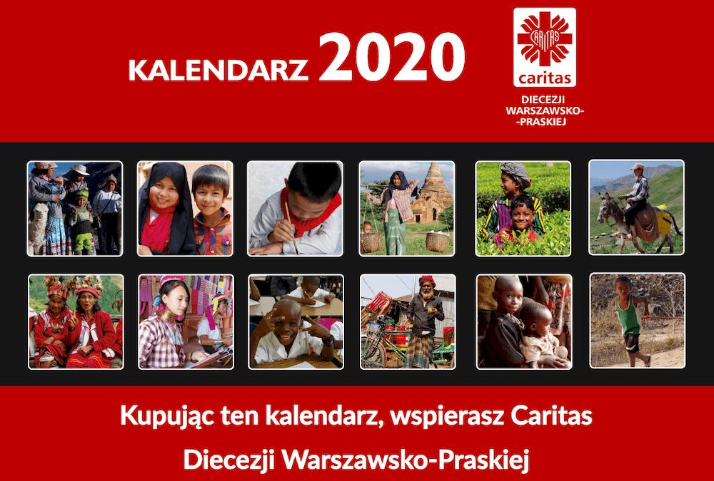Kalendarz charytatywny 2020 Caritas DWP