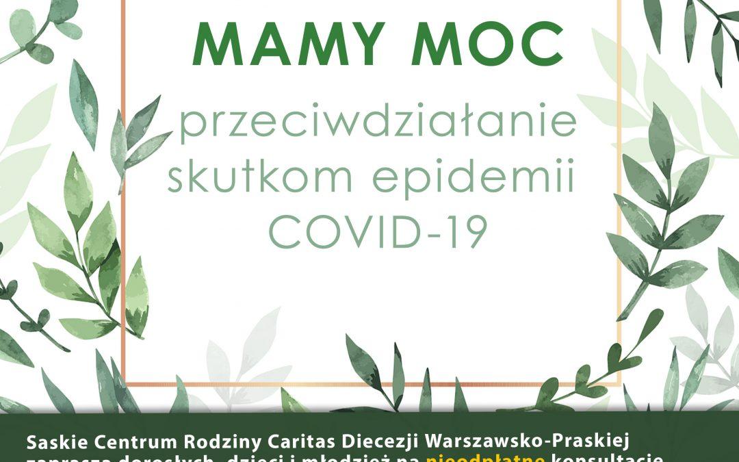 Projekt: Mamy moc – przeciwdziałanie skutkom epidemii COVID-19